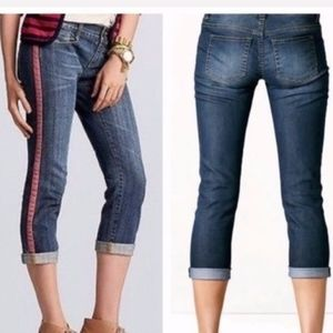 3/$20 CAbi #327Johnny Cropped JEANS sz 6